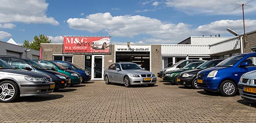 M&G auto's - Over ons